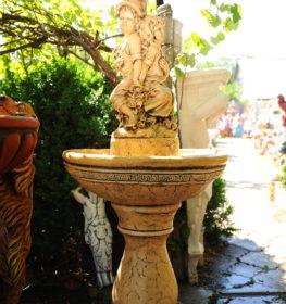 Фонтан  «дети под зонтом в греческой чаше», купить в Крыму и Севастополе