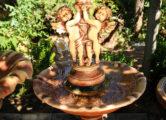 Фонтан  «ангелы под зонтом», купить в Крыму и Севастополе