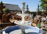 Фонтан  с бассейном «девушка под зонтом», купить в Крыму и Севастополе