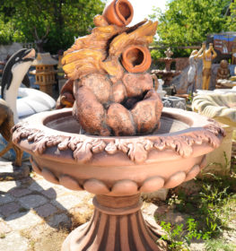 Фонтан  «каскад кувшинов в царской чаше», купить в Крыму и Севастополе