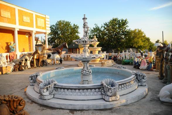 Фонтан с бассейном «изобилие», купить в Крыму и Севастополе