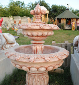 Фонтан  «царский малый с лилией», купить в Крыму и Севастополе