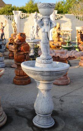 Фонтан  «девушка с вазой на голове», купить в Крыму и Севастополе