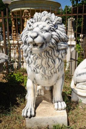 Фигура «Лев большой сидящий», купить в Крыму и Севастополе