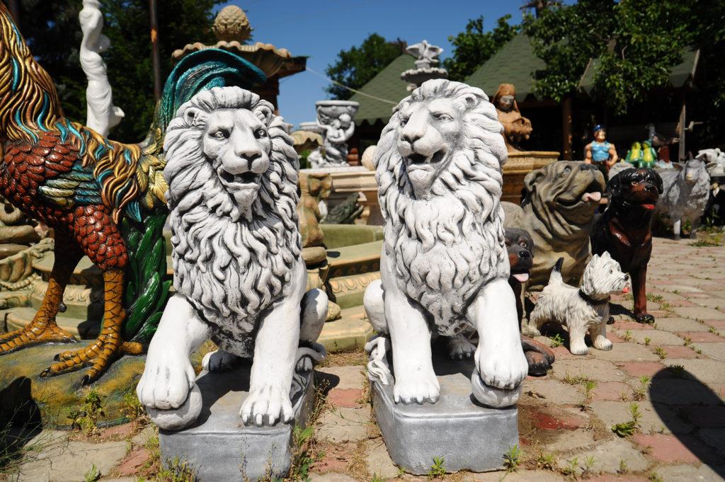 Статуи из бетона купить в крыму можно ли керамогранит класть на цементный раствор