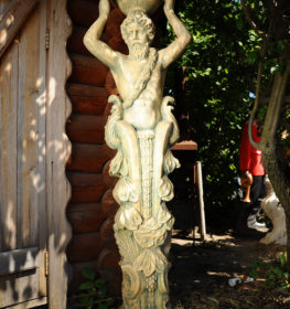 Скульптура садовая Кариатида, купить в Крыму и Севастополе