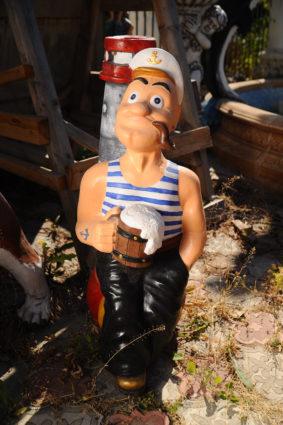 Фигура «Моряк Папай», купить в Крыму и Севастополе