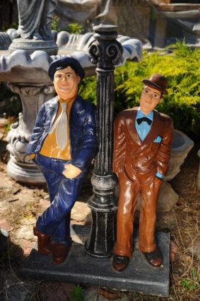Фигура «Джентельмены у фонаря», купить в Крыму и Севастополе