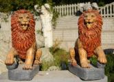 Фигура «Лев с шаром», купить в Крыму и Севастополе