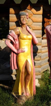 Фигура «Африканка певица», купить в Крыму и Севастополе