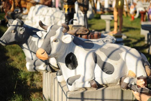 Фигура «Буренка большая», купить в Крыму и Севастополе