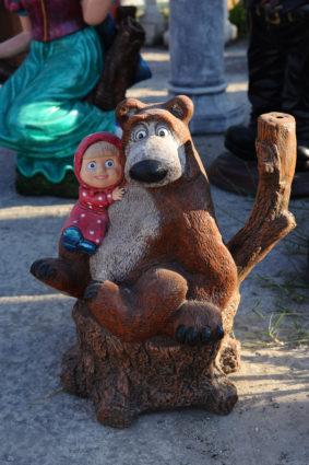 Фигура «Маша и Медведь», купить в Крыму и Севастополе