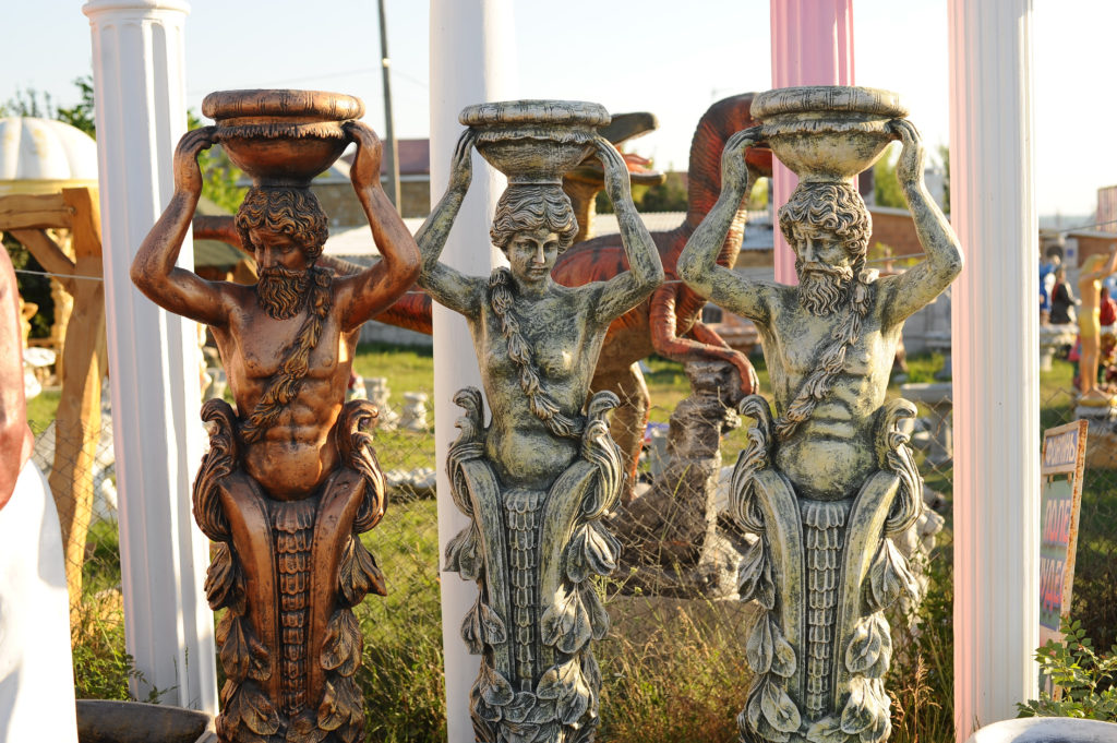 Статуи из бетона купить в крыму штукатурка пеноблока цементным раствором снаружи