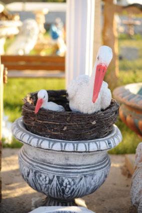 Фигура «Аисты в гнезде», купить в Крыму и Севастополе