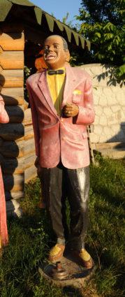 Фигура «Африканец певец», купить в Крыму и Севастополе