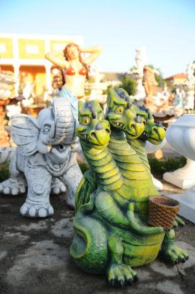 Фигура «Змей Горыныч», купить в Крыму и Севастополе