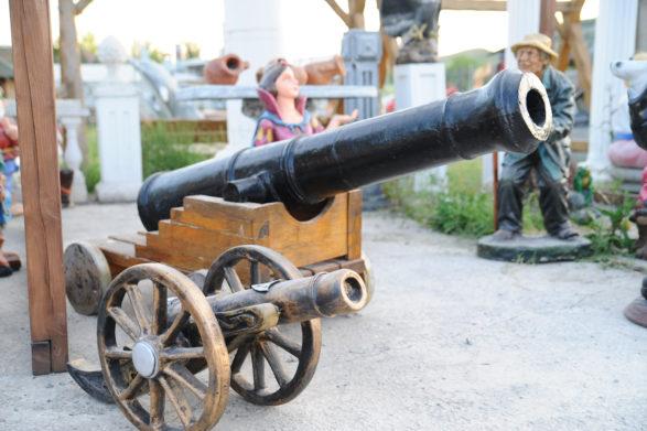 Фигура «Пушка», купить в Крыму и Севастополе
