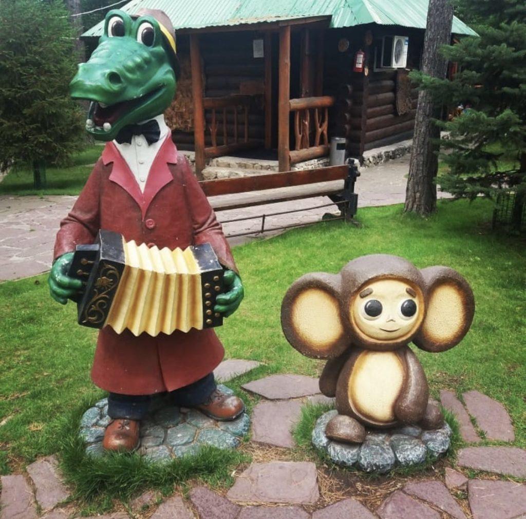 Фигура «Чебурашка» - Фонтаны Крыма