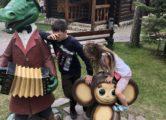 Фигура «Крокодил Гена», купить в Крыму и Севастополе