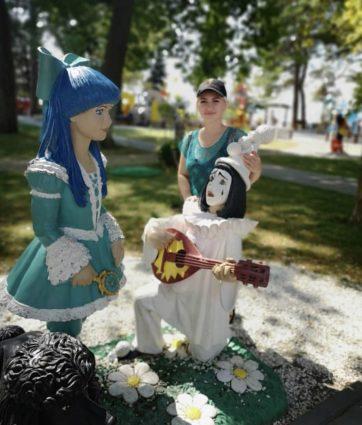 Фигура «Мальвина и Пьеро», купить в Крыму и Севастополе