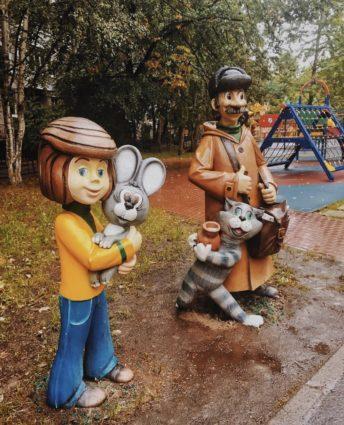 Фигура «Дядя Федор», купить в Крыму и Севастополе