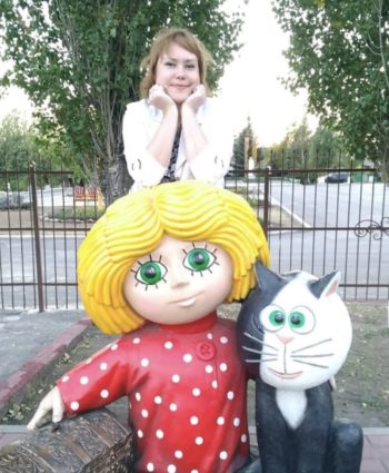 Фигура «Кузя», купить в Крыму и Севастополе