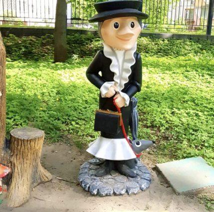 Фигура «Старуха Шапокляк», купить в Крыму и Севастополе
