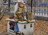 Фигура «Емеля на печи», купить в Крыму и Севастополе
