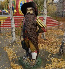 Фигура «Карабас Барабас», купить в Крыму и Севастополе