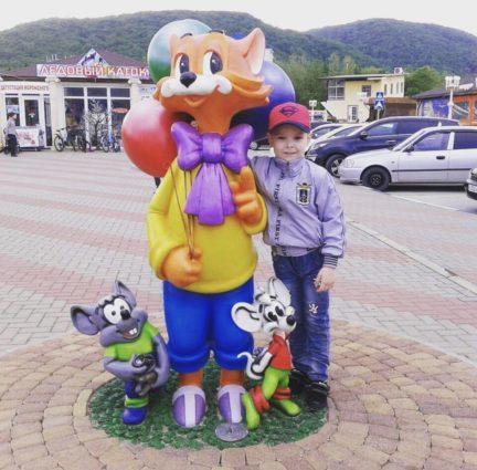 Фигура «Кот Леопольд», купить в Крыму и Севастополе
