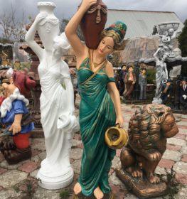 Фигура «Восточная девушка с кувшином», купить в Крыму и Севастополе