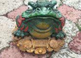 Фигура «Денежная лягушка», купить в Крыму и Севастополе