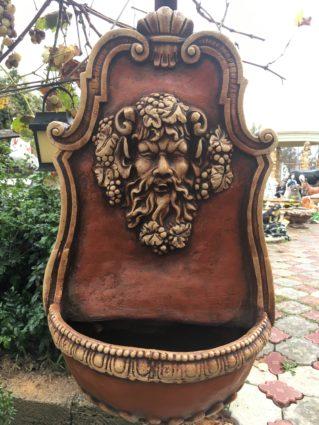 Фонтан пристенный «Дионис», купить в Крыму и Севастополе