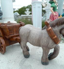 Лошадка с телегой маленькая, купить в Крыму и Севастополе