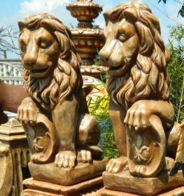 Лев с щитом маленький, купить в Крыму и Севастополе