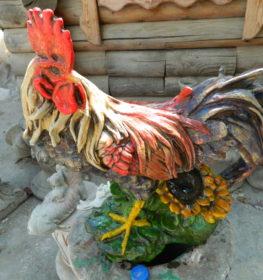Петух с подсолнухами, купить в Крыму и Севастополе